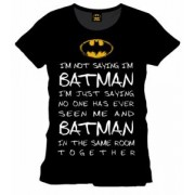 Tricou Batman Who is Batman