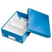 Leitz Sorteerbox Leitz WOW Click & Store 220x100x282mm blauw
