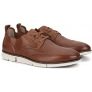 Clarks TRIGEN WING TAN LEATHER Casuals For Men(Tan)