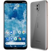 "Nokia 8.1 64 GB 6.18 ""(15.7 cm)Dual-SIM Android™ 9.0 12 MPix, 13 MPix Srebrna"