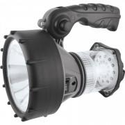 Lanterna tip proiector reincarcabila LED 1W, 90 lumeni, ultra-luminos, 24 LEDs