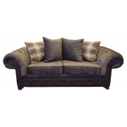 Luxury Texas 3+2 Fabric Sofa - Choice of Colours - Stone Grey