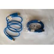 1.5M 5FT USB 2.0 nyomtató kábel 2.0 A apa - B apa