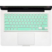 Kuzy - Mint GREEN Keyboard Cover Silicone Skin for MacBook Pro 13 15 17 (with or w/out Retina Display) iMac and MacBook Air 13 - Mint Green