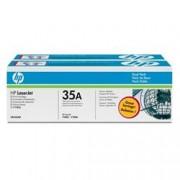ORIGINAL HP Multipack nero CB435AD 35A twin pack