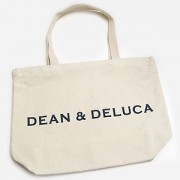 ≪DEAN & DELUCA(ディーン&デルーカ)≫ トートバッグ L(ナチュラル)