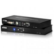 Aten Estensore KVM USB DVI con audio e RS-232 60m, CE600
