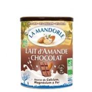 Lapte Praf de Migdale Bio cu Ciocolata La Mandorle 400gr