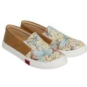 Trendy Look Casual Sneakers (Beige)