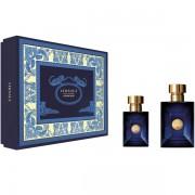 Versace Pour Homme Dylan Blue Комплект (EDT 100ml + EDT 30ml) за Мъже