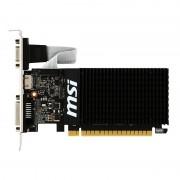 MSI Videokaart GT710 Silent 2GB DDR3 Videokaart