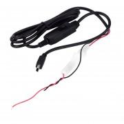 EY Caliente Mini USB DC A DC Car Auto Power Vehículo Inversor Convertidor De Cable Adaptador (1 Fideos, MiniUSB Cabeza Recta).