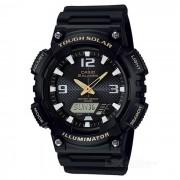 Casio AQ-S810W-1BVDF resistente deporte solar reloj-negro + blanco (sin caja)