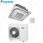 Daikin Climatizzatore Condizionatore Daikin Cassetta Incasso Round Flow 24000 Btu Inverter Fcqg71f - Comando Filo Incluso