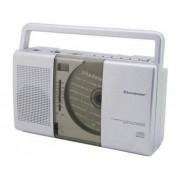 SoundMaster RCD1150 FM CD-radio CD, Middengolf, FM Zilver