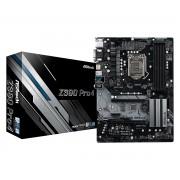 MB ASRock Z390 Pro4, LGA 1151v2, ATX, 4x DDR4, Intel Z390, S3 6x, VGA, DVI-D, HDMI, 36mj (90-MXB6T0-A0UAYZ)