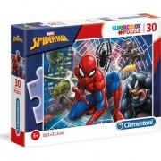 Puzzle Clementoni SuperColor: Marvel Spider-man, 30 piese