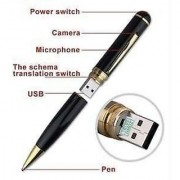 HD Spy Pen with Hidden Camera Audio/Video Recorder 16GB internal USB Memory
