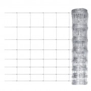 vidaXL Garden Fence Galvanised Steel 50 m 100 cm