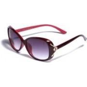 Tasset Over-sized Sunglasses(Blue)