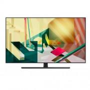 """Телевизор Samsung 75Q70T 75"""", QLED FLAT, SMART, 3400 PQI, Dual LED, Quantum HDR, HDR 10+, Dolby Digital Plus, Bixby, Bluetooth, 4xHDMI, 2xUSB, Черен"""