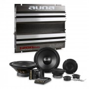 CS-Comp-8 Set Hi-Fi Car Amplificatore 2 Canali Altoparlanti