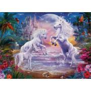 Puzzle Ravensburger - The Paradise of the Unicorns, 300 piese XXL (13256)