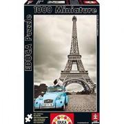 1000 piece MINI Eiffel Tower Paris - Educa Puzzle