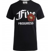 5 PROGRESS T-shirt 5 Progress African Azalea nera