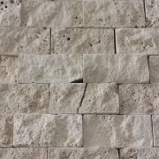 Mozaic Travertin Clasic Crem Scapitat 5x2.5x2 cm