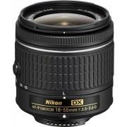 Nikon DX AF-P Nikkor 18-55mm f/3.5-5.6G Objetivo Negro
