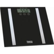 Cantar persoane Teesa Body analyzer Ecran LCD 150kg Negru