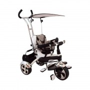 Tricicleta multifunctionala Happy Days Alb Baby Mix