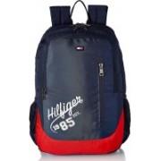 Tommy Hilfiger DENVER 24.48 L Laptop Backpack(Blue, Red)