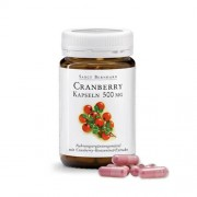 Sanct Bernhard Mirtillo rosso 500 mg - supporto per la salute delle vie urinarie, 90 capsule