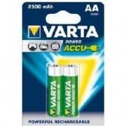 VARTA Lot de 2 piles rechargeables ACCU AA 2400mAh