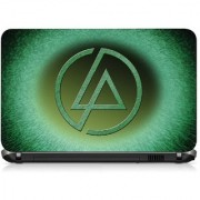 VI Collections PATTERN GREEN WITH LOGO pvc Laptop Decal 15.6