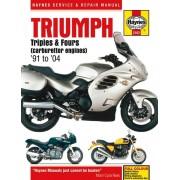 Triumph Triples &: Fours (carburettor engines) (91 - 04)
