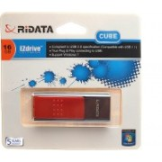 Ridata Cube 16 GB Pen Drive(Red)