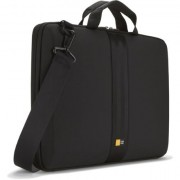 Case Logic QNS116K Laptop Shuttle for 16.0quot;/ EVA-Nylon/ Black/ (38.1 x 2.0 x 27.0cm)