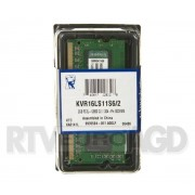 Kingston DDR3 2GB KVR16LS11S6/2 SODIMM
