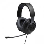 Геймърски слушалки с микрофон JBL Quantum 100 Black, JBL-Q100-BK