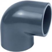 AquaForte PVC knie 90 graden - 110 mm