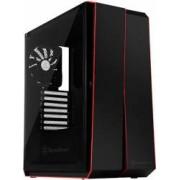 Carcasa Gaming SST-RL07B-G Red Line Midi Tower ATX TG Negru