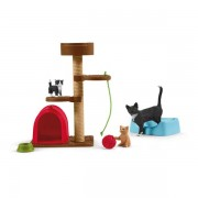 Schleich - Farm World Playtime For Cute Cats
