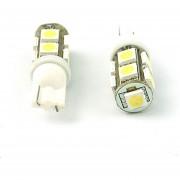 EH Puerta Luz Luces De Posición Y Las Luces De Otros Interfaces De Troncales T10 9-SMD