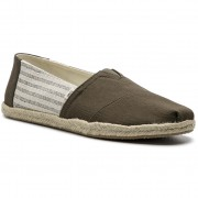 Espadrile TOMS - Classic 10013528 Tarmac Ivy League Stripes On Rope