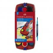 Acuarele 24 culori/set FABER-CASTELL Connector, FC125029