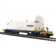 mth Trains; Mikes Train House mth MTH2095189 O 47' TTX Heavy Duty Flat w/Cover CSX