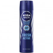 Nivea Deodorant spray, Barbati, 150 ml, Fresh Active